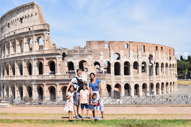 Colosseum and Ancient Rome with kids