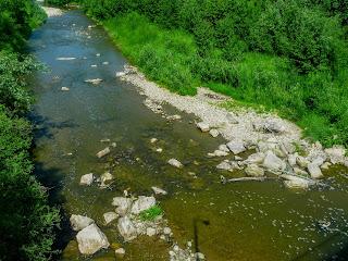 Галич. Річка Луква