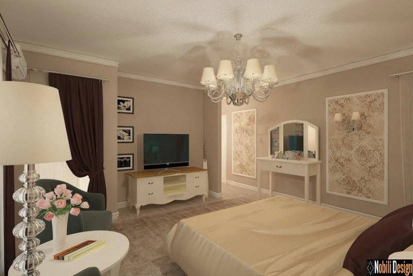 Design interior clasic de lux case Bucuresti