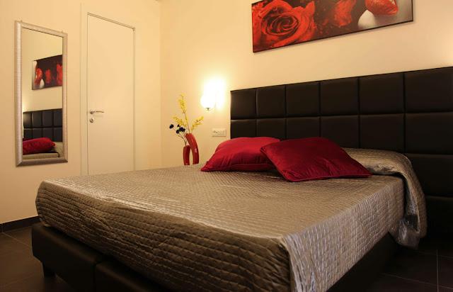 Quarto do Hotel Deko Rome