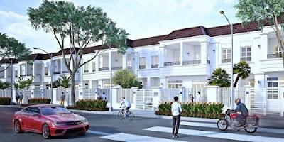 Mẫu nhà Dự án Thăng Long Home - Hiệp Phước