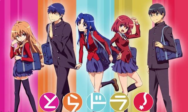Toradora - Daftar Anime Buatan Studio J.C.Staff Terbaik