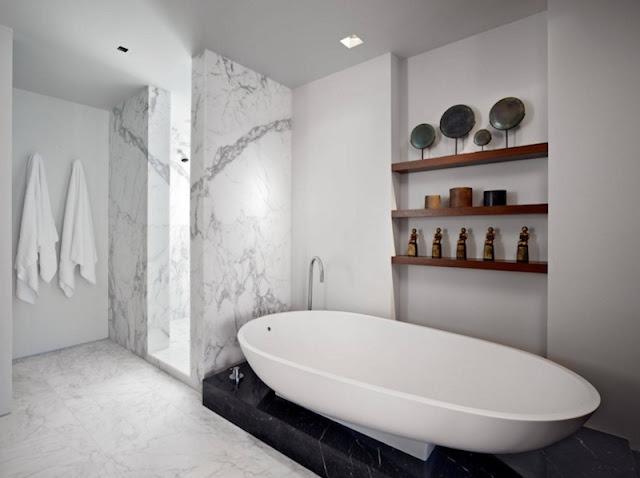 Modern Bathroom Ideas - Natural Materials