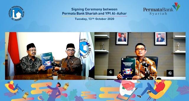 Dukung Dunia Pendidikan, PermataBank Syariah Jalin Kerja Sama Dengan YPI Al-Azhar Indonesia