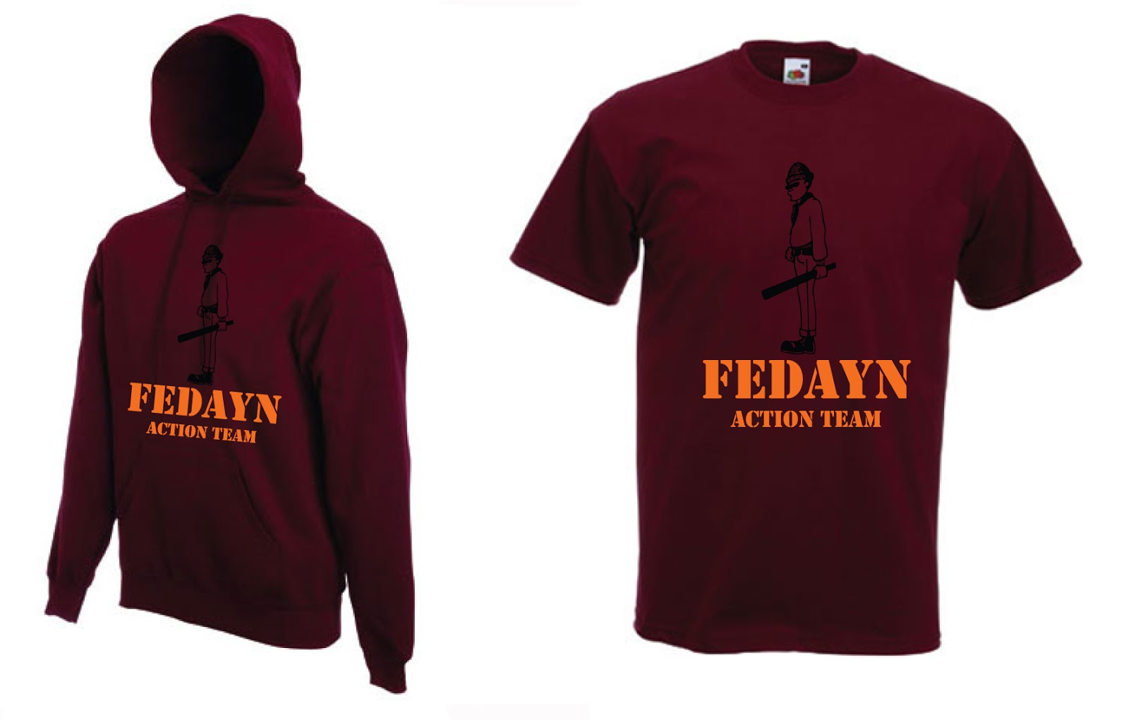 c025576d0c1d ULTRAS T-SHIRTS   APPAREL  ROMA - FEDAYN ACTION TEAM