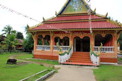 Wat Khon Tai (Don Khon, Si Phan Don, Laos)