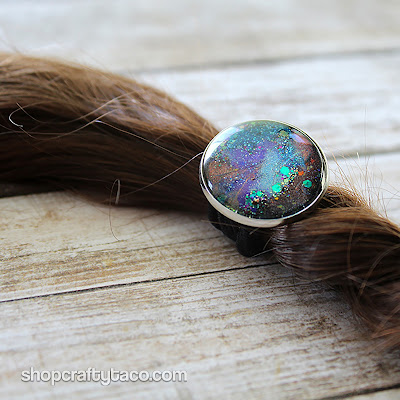 The Crafty Taco Cosmic Cloud Hair Bauble