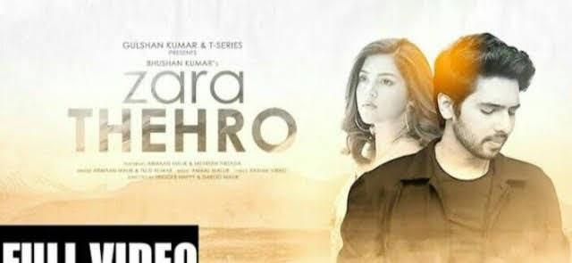 Zara Thehro Lyrics - Armaan Malik | Tulsi Kumari | Amaan Mallik