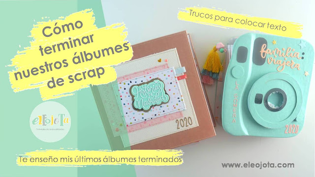 tips álbumes de scrapbooking