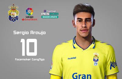 PES 2021 Faces Sergio Araujo by CongNgo
