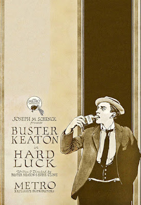 Póster Hard Luck - Buster Keaton
