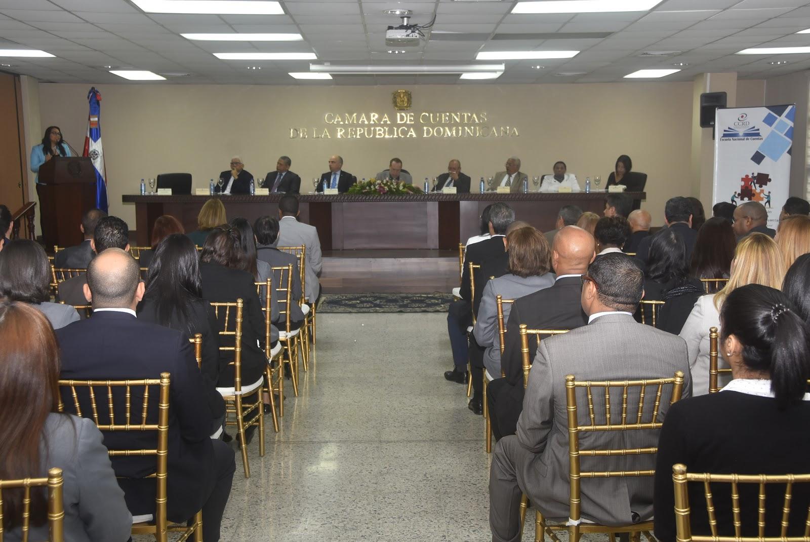 Pleno de Miembros de la CCRD relanza Escuela Nacional de Cuentas