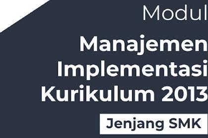 Modul Supervisi Akademik K2013 Kepala Sekolah SMK