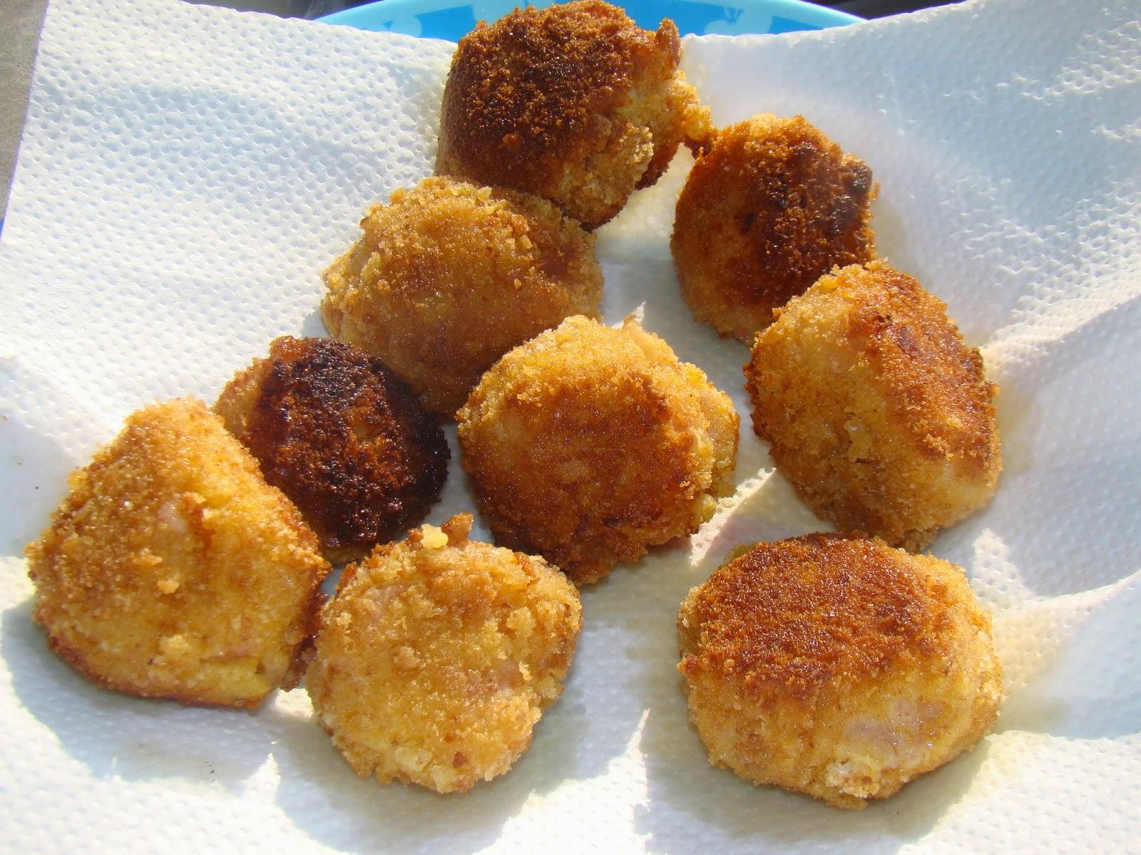 Croquette De Jambon Au Four croquetas (croquettes au jambon - espagne)