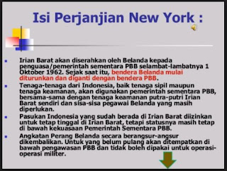 Isi Perjanjian New York