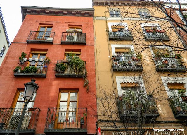 Casarões do Barrio de las Letras, Madri