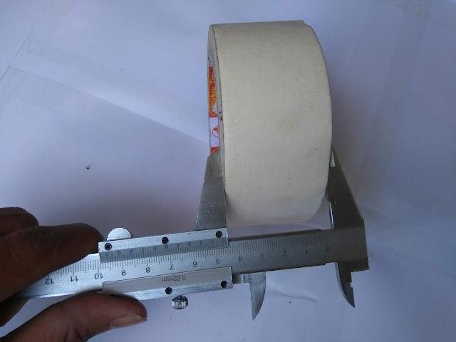 Băng dính giấy 1cm dài 20m