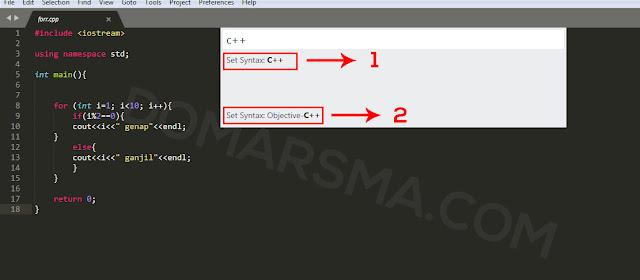 Cara Menjalankan Program C++ Dengan Sublime