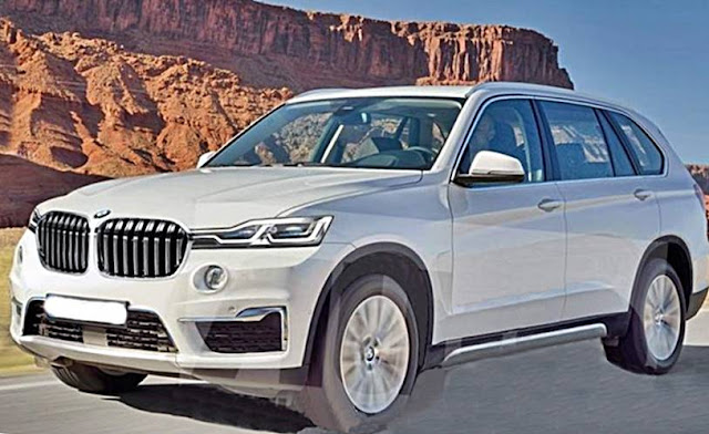2018 BMW X7 gets spied again