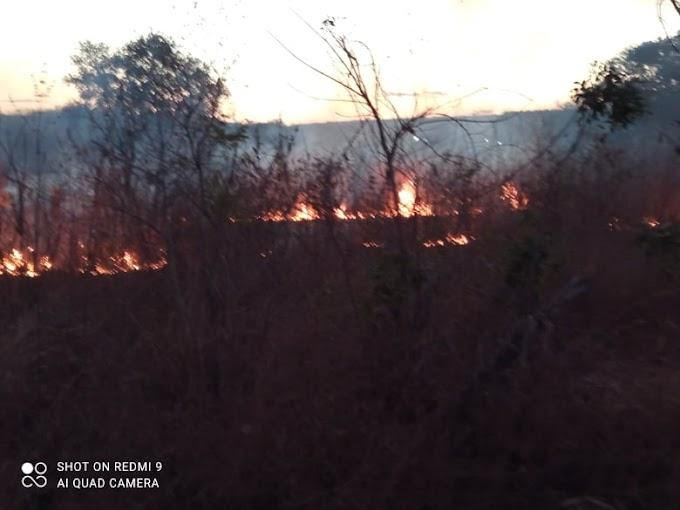 ELESBÃO EM CHAMAS- Fogo descontrolado por toda a cidade.