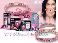 Logo Concorso Gillette Venus e Braun : Vinci Bliss! 50 bracciali da 200€ ciascuno