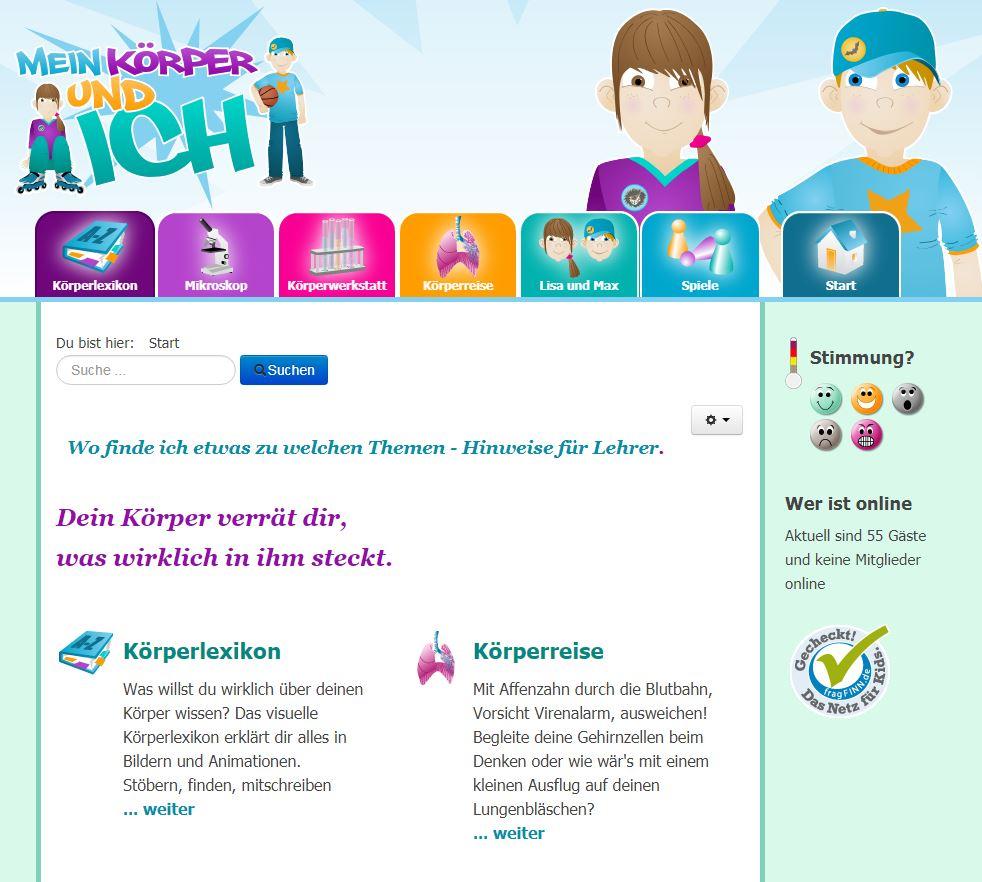 SCHÜLERCLUB Dornbirn: [ #sachwissen ] Körper-Lexikon für 8- bis 12 ...