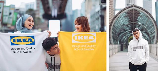 IKEA Ada Jual Merchandise Limited Edition Seperti Hoodies, T-Shirt, Botol Air Dan Banyak Lagi