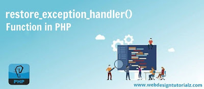 PHP restore_exception_handler() Function