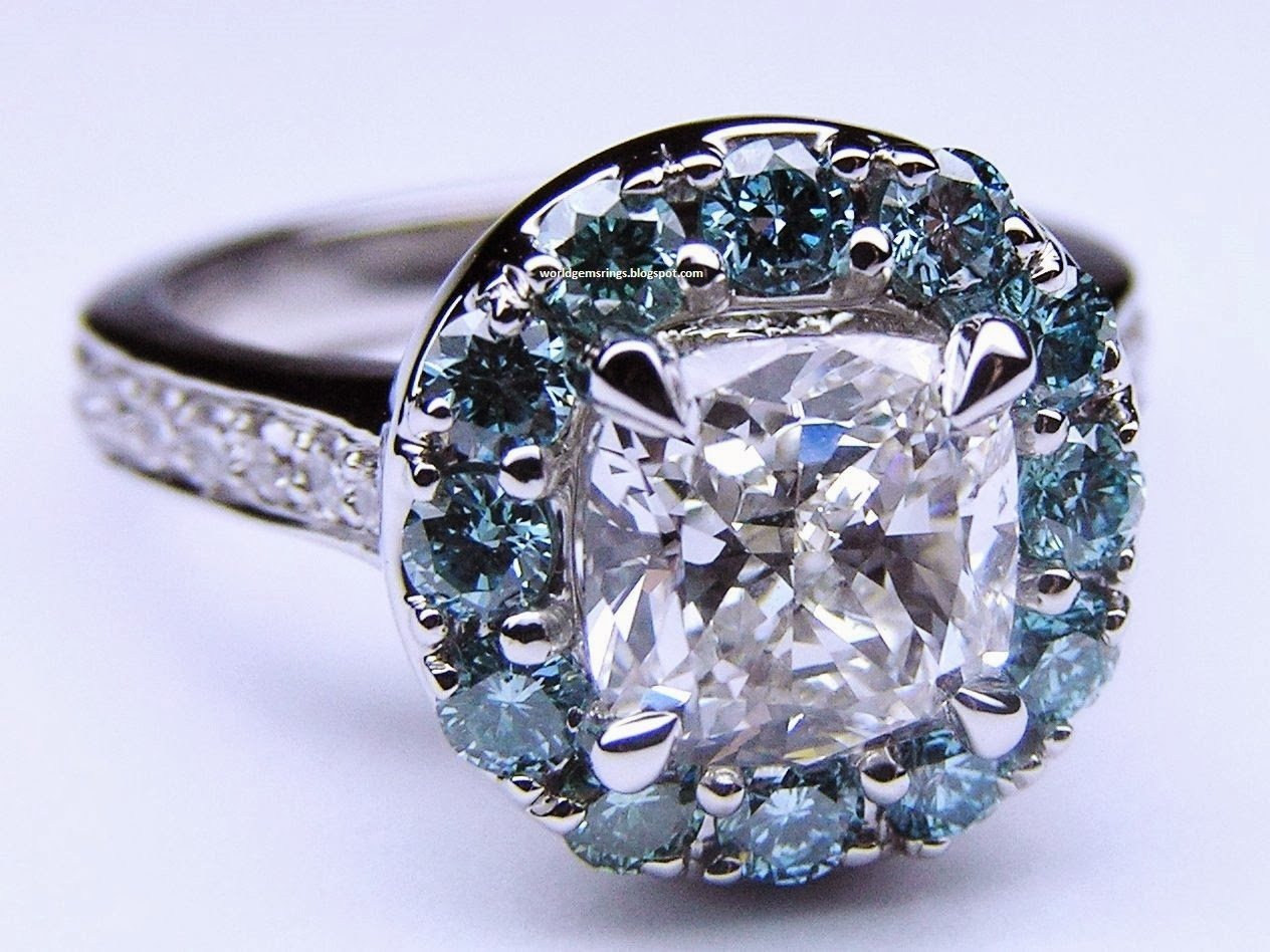 Engagement Ring : Engagement Beautiful Diamond Rings In