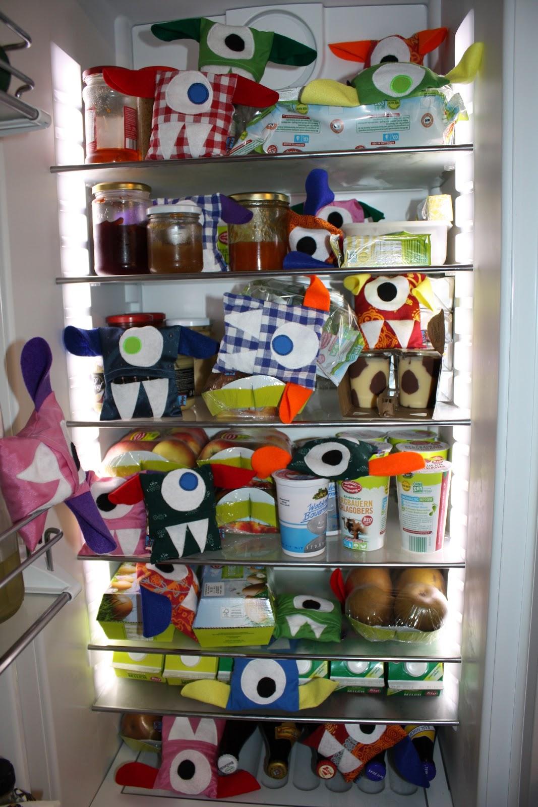 Kühlschrank-Monster | verfuchstundzugenäht