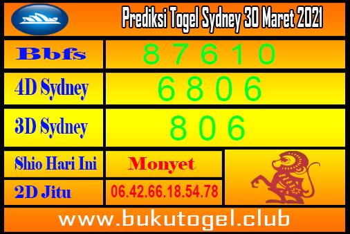 Prediksi Sydney 30 Maret 2021