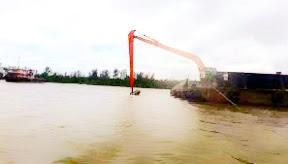 Pendalaman Alur Muara sungai Lenggang