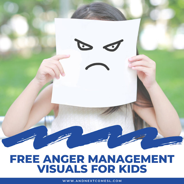 Free visual aids for anger management for kids