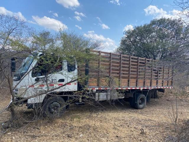 La Policía los siguió desde Río Seco-Cesar, hasta Distracción para recuperar un camión robado.