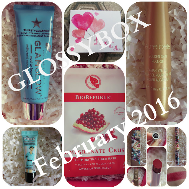 February 2016 GLOSSYBOX Review