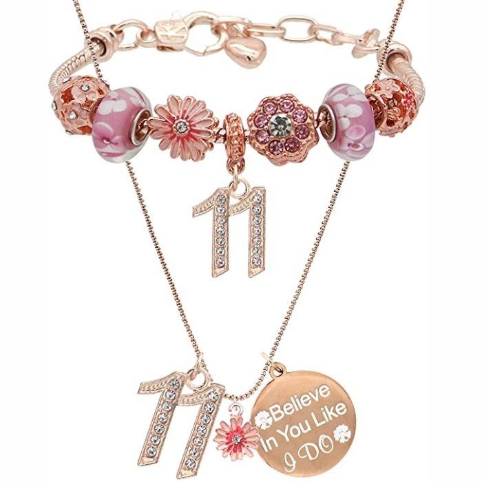 11th Birthday Necklace USA