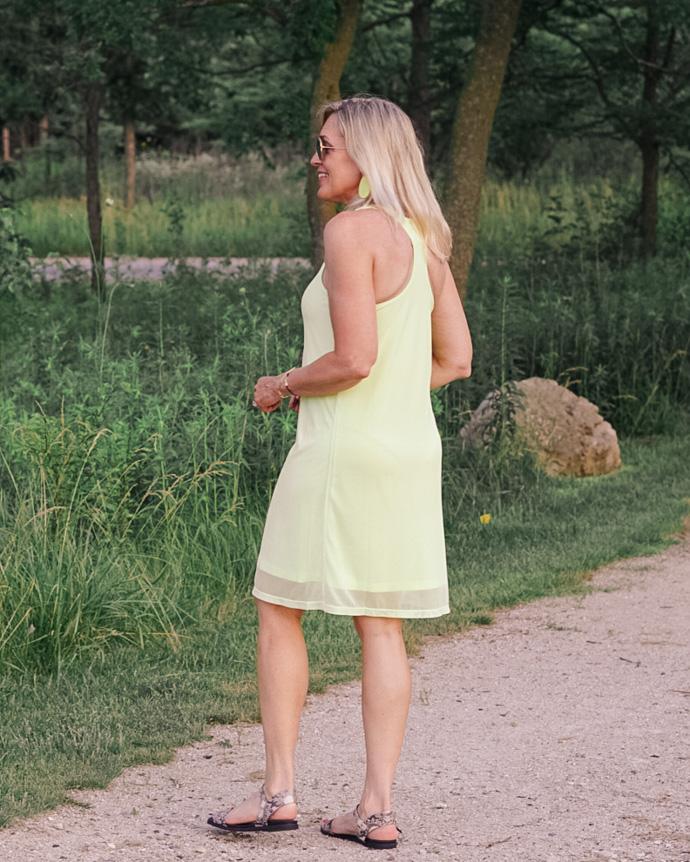 racerback a-line dress