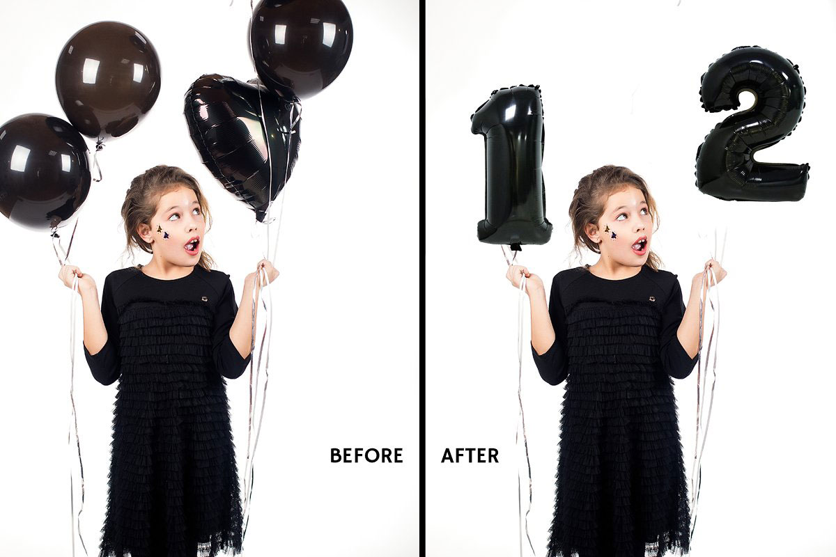 80 Number Balloons Photo Overlays 5224487.