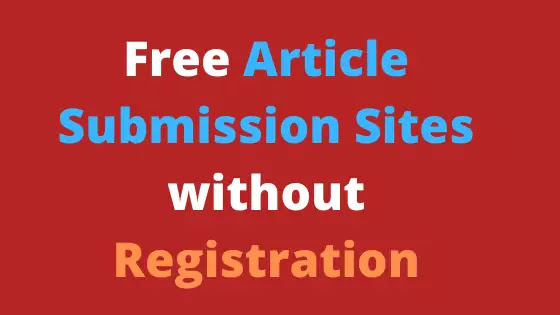 Free Best Article Submission Sites with Instant Approval in Hindi