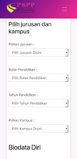 formulir pendaftaran PSPP Jogja