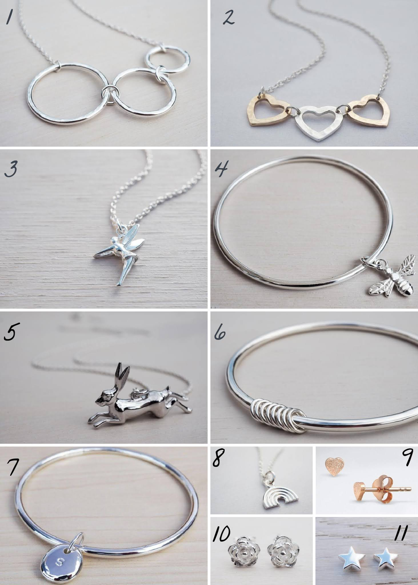 Tiny Silver Christmas Gift Guide