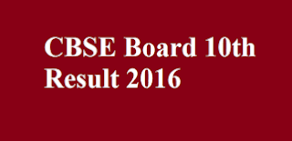 cbse board 10th results 2016