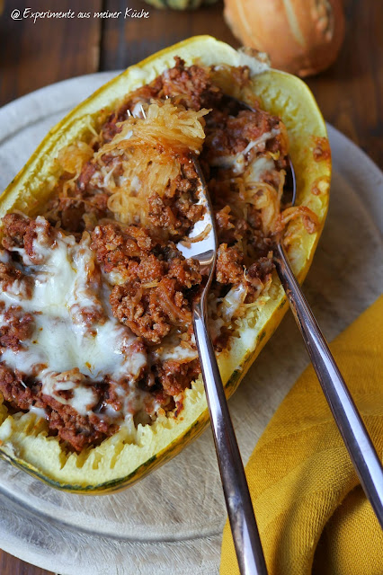 Spaghettikürbis à la Bolognese | Rezept | Kochen | Essen | Weight Watchers