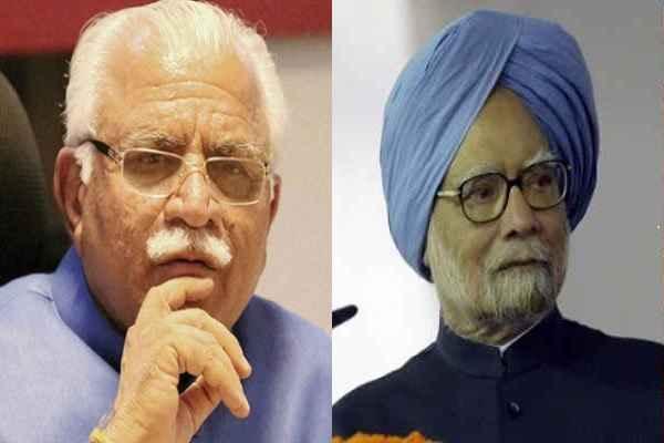 कांग्रेसियों को टिकट देकर BJP ने बना दिया विधायक, मंत्री, उन लोगों ने खट्टर को बना दिया मनमोहन