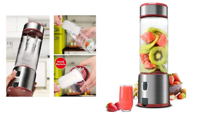 KACSOO Portable Blender for Smoothie and Shakes
