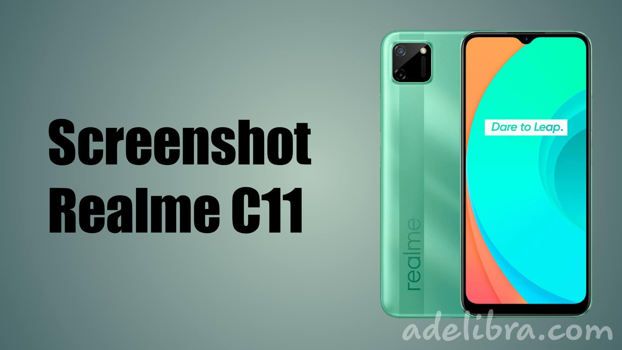 How to take Screenshot Realme C11