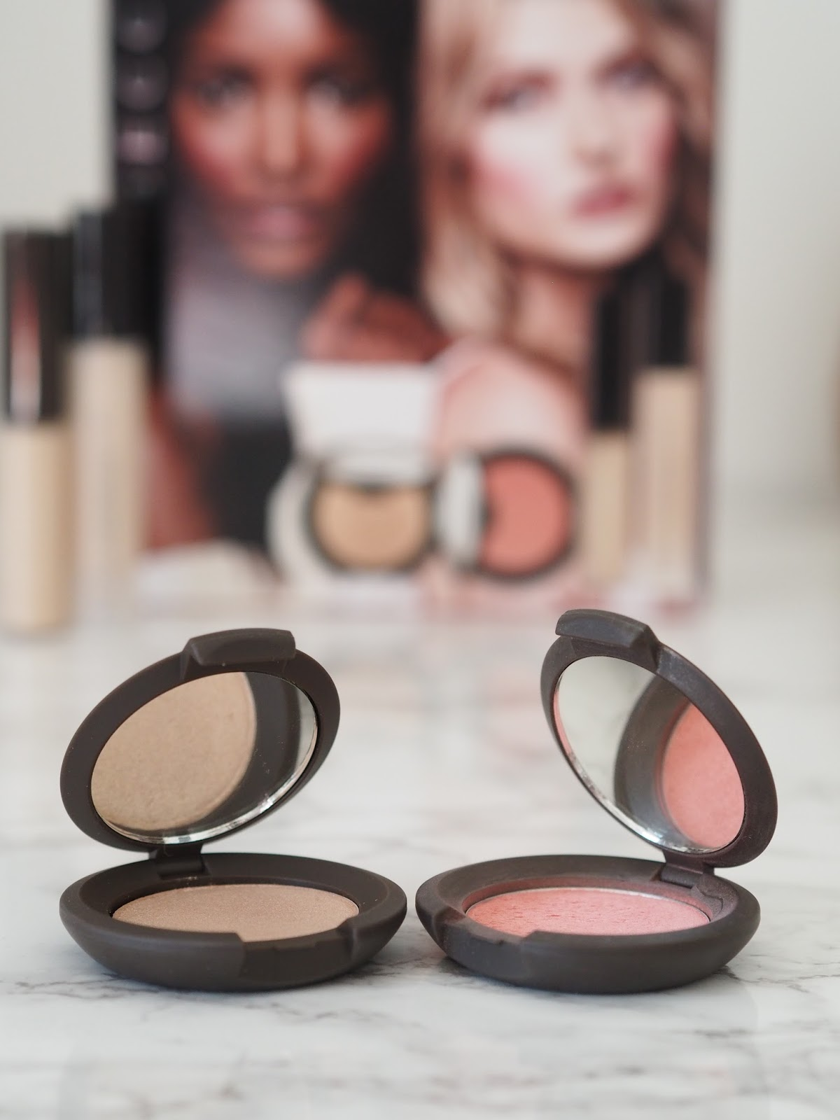 BECCA review Flowergirl blusher highlighter QVC Backlight priming filter