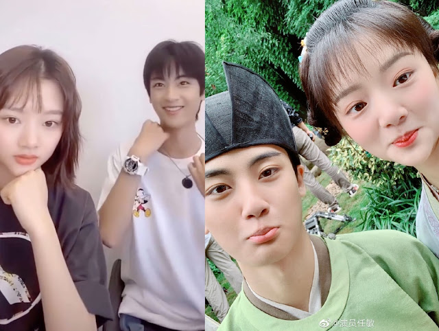 Bian Cheng Under Fire for Rude Comments Towards Ren Min During Their Livestream Together