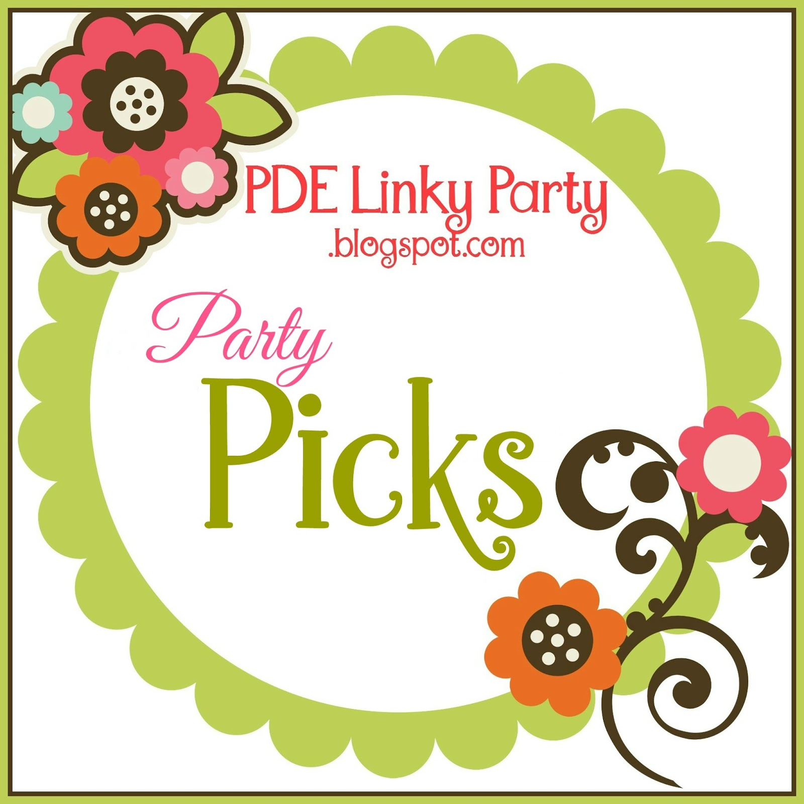 PDE Linky Party Picks