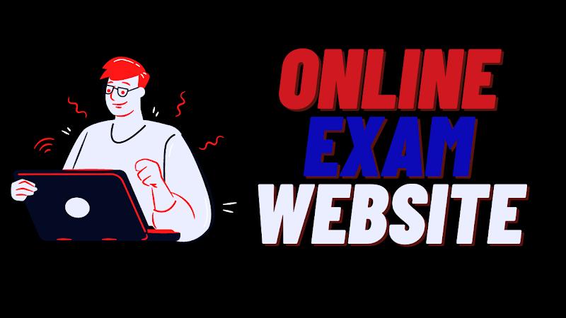 Online exam website